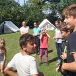 Zeltlager für Kinder
