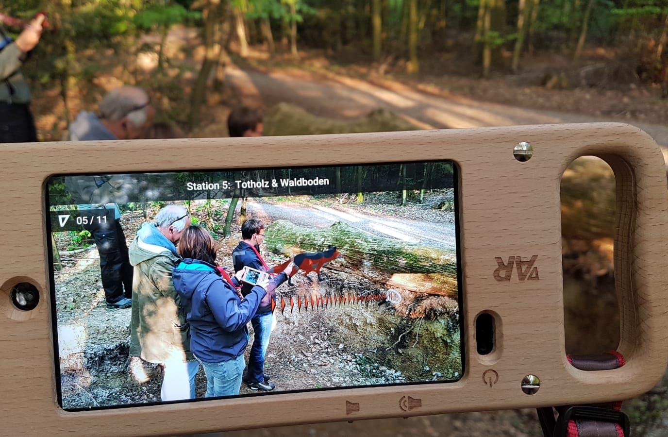 Erlebnis Wald - Der Digitale Waldlehrpfad