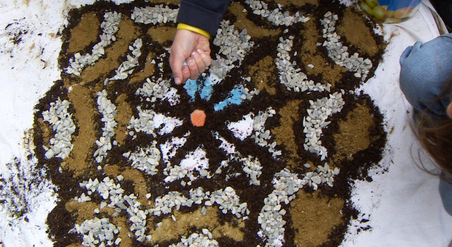 Basteln und Experimentieren mit Naturmaterialien
