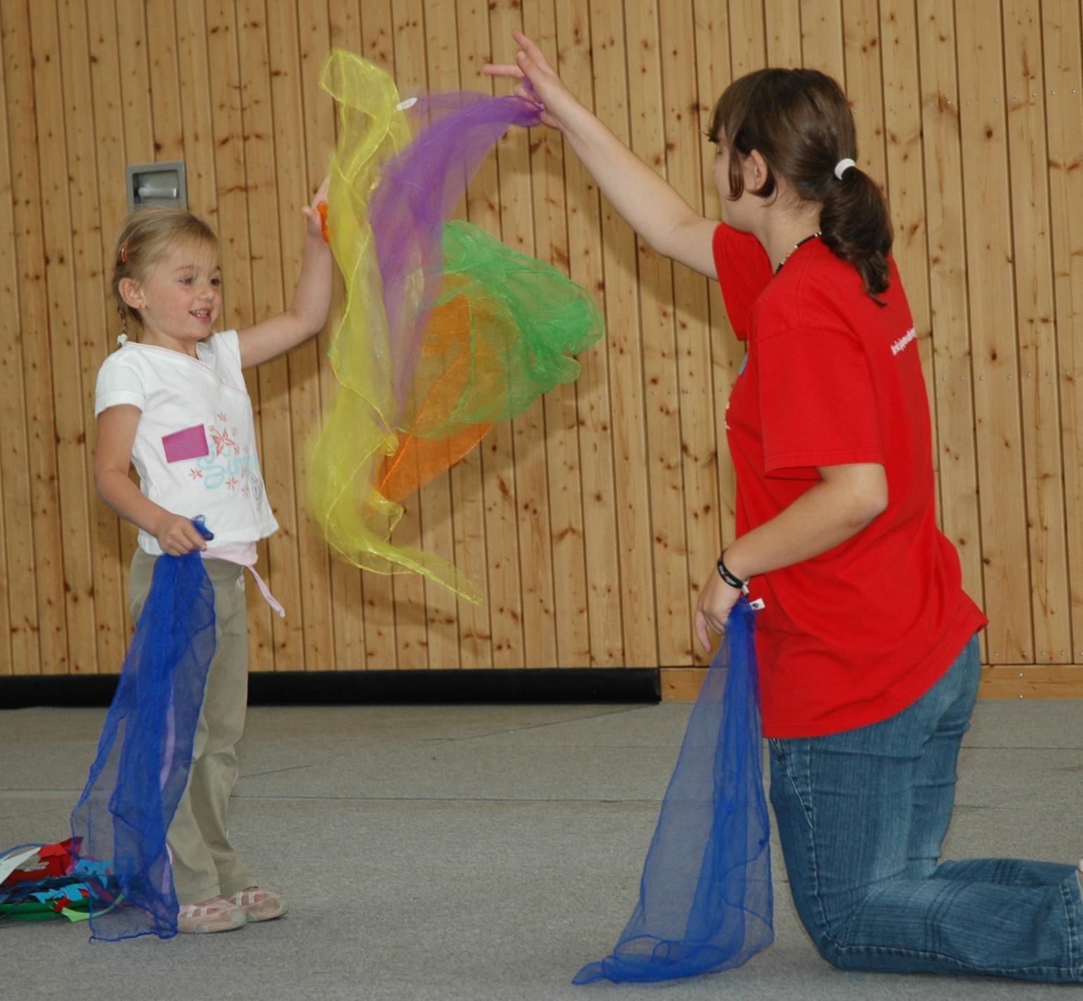 Zauberei, Theater und Musik - Mobile Kinderaktion